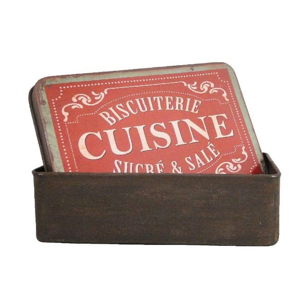 Kovový box Antic Line Biscuterie