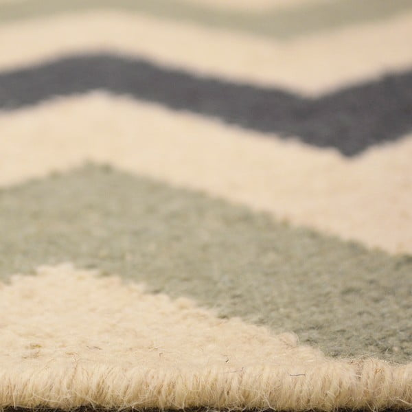Vlněný koberec Kilim no. 02, 90x150 cm