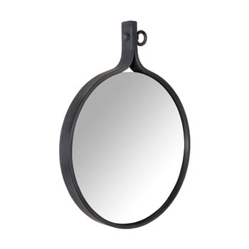 Oglindă cu ramă neagră Dutchbone Attractif, 41 cm imagine