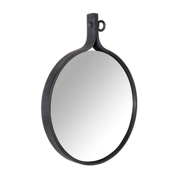 Attractif fali tükör fekete kerettel, szélesség 41 cm - Dutchbone