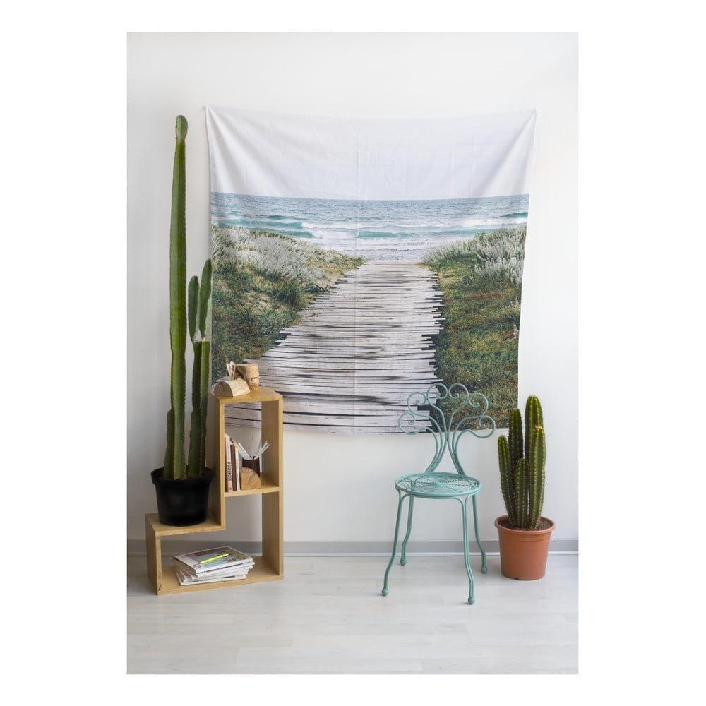 Tapis rie really nice things beach way 140 cm x 140 cm - Really nice things ...