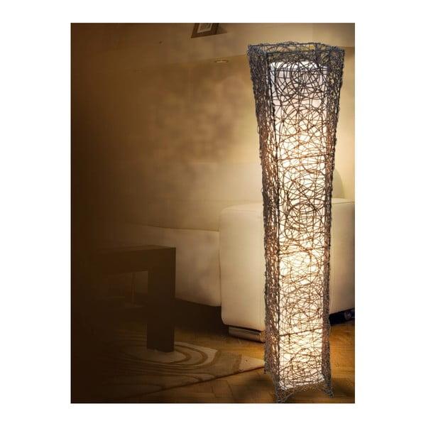 Hnědá volně stojící lampa Naeve Korbstehleuchte
