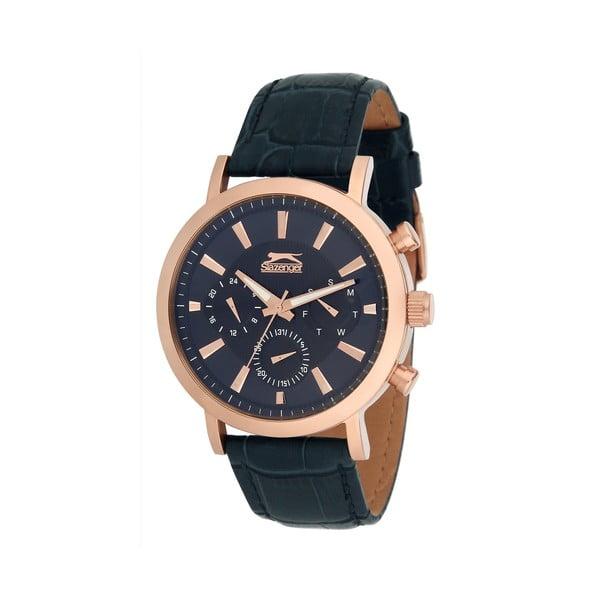 Pánské hodinky Slazenger Azul-Dorado