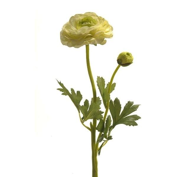 Umělý pryskyřník, světle zelený, 48 cm