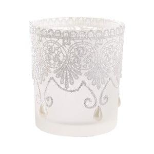 Sada 6 bílých svícnů InArt Lace