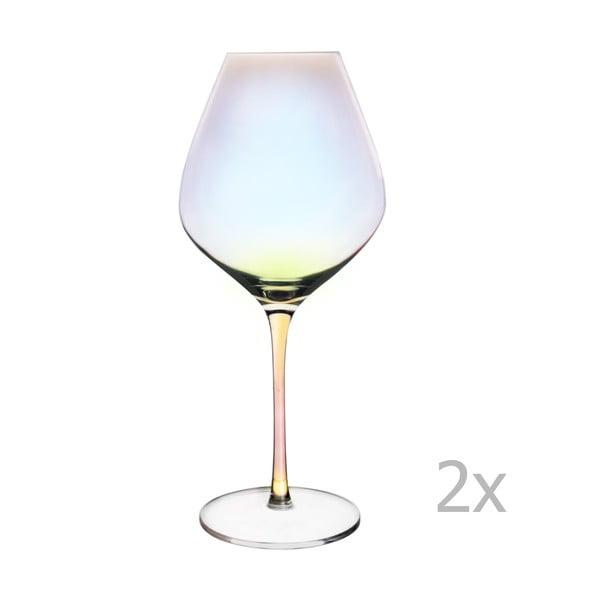Sada 2 sklenic na červené víno Orion Luster, 650 ml
