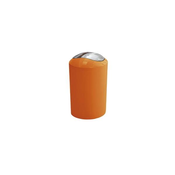 Odpadkový koš Glossy Orange, 3 l
