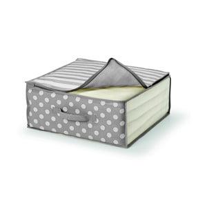 Šedý úložný box na přikrývku Cosatto Trend,45x45cm