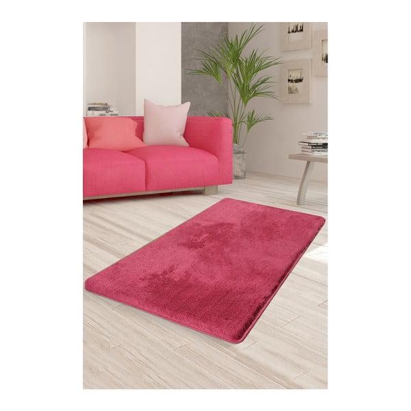Różowy dywan Milano, 140x80 cm