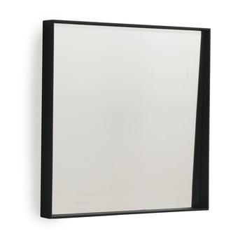 Oglindă de perete Geese Thin, 40 x 40 cm, negru imagine
