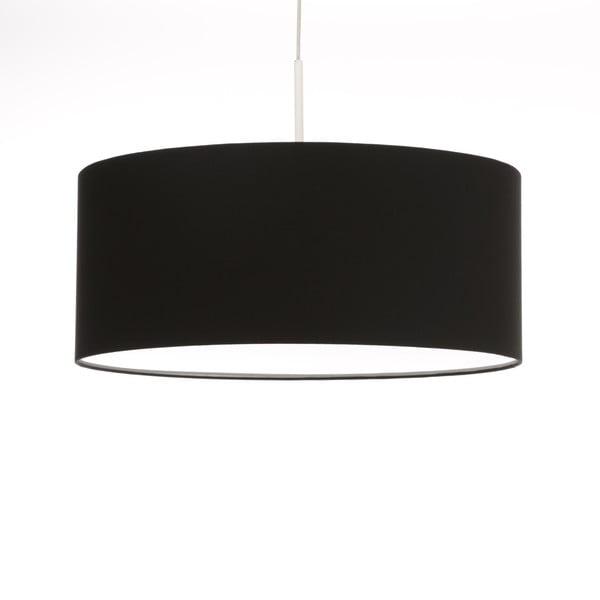 Černé stropní světlo 4room Artist, variabilní délka, Ø 60 cm