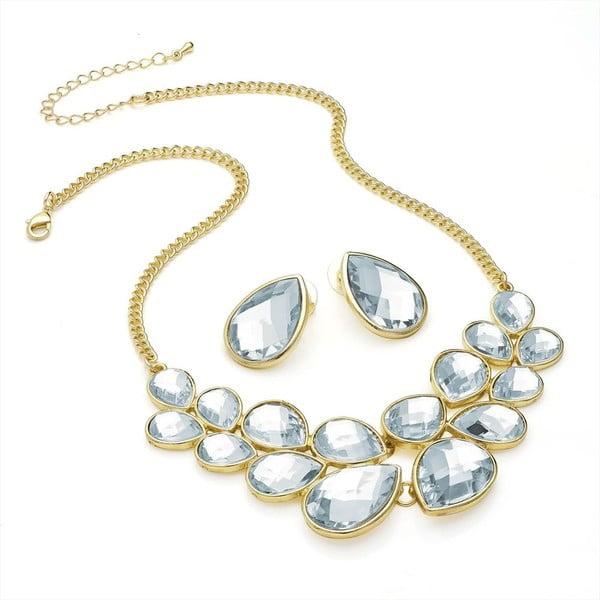 Set náhrdelník a náušnice Melissa