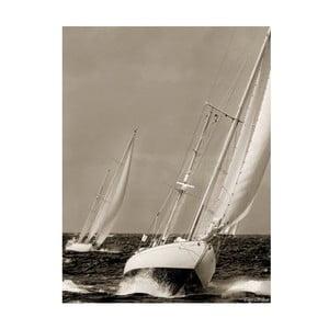 Obraz na plátně Na moři, 80x60 cm