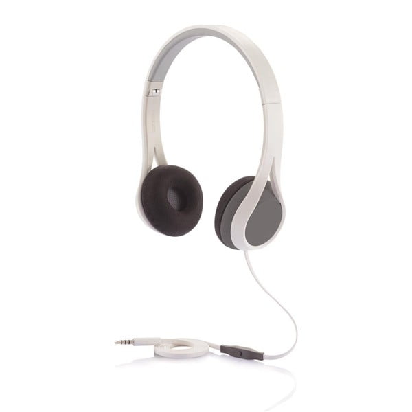 Sluchátka XD Design Oova Headphones Grey/White