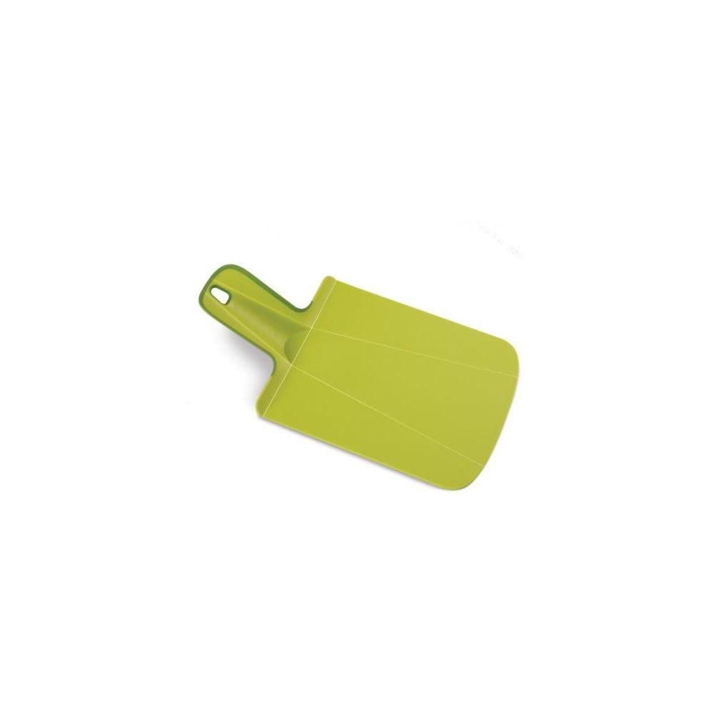 Zelené krájecí prkénko Joseph Joseph Chop2Pot Mini
