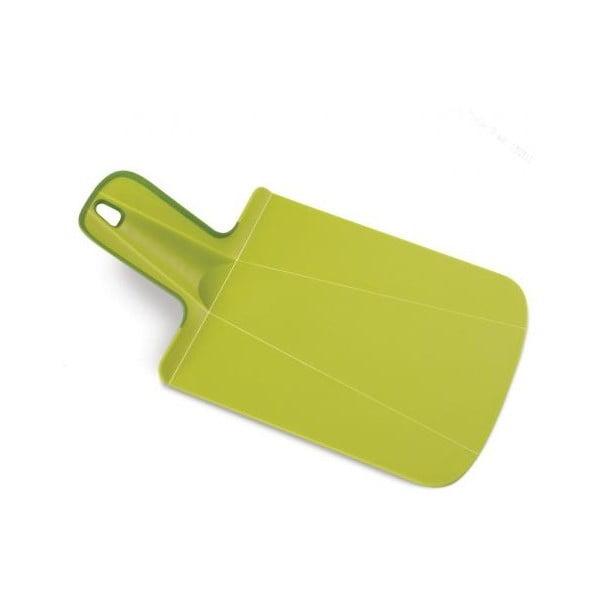 Zelené krájecí prkénko Joseph Joseph Chop2Pot Mini, délka17cm