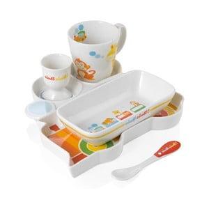 Dětský jídelní porcelánový set Brandani Ciuf