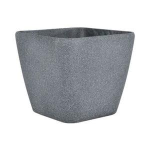 Květináč Vanda 22x20 cm, tamvě šedý pískovec