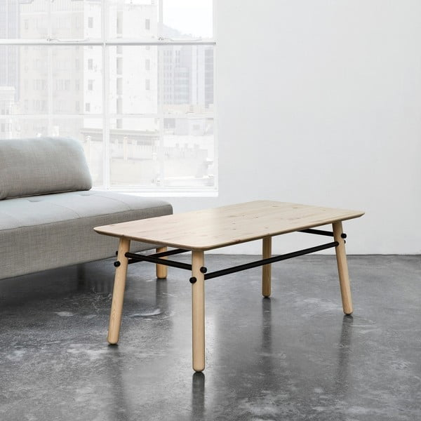 Konferenční stolek z borovicového dřeva Karup Stick