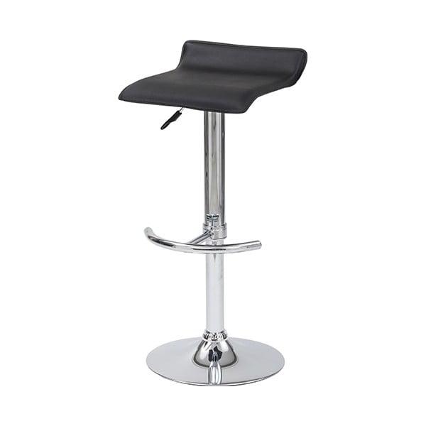 Barová židle Skin, černá