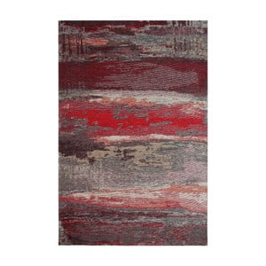 Běhoun Eco Rugs Red Abstract, 80 x 300 cm