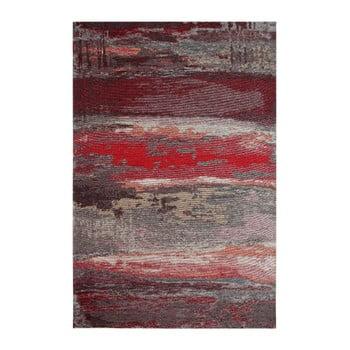 Covor Eco Rugs Red Abstract, 80x150cm de la Eko Halı