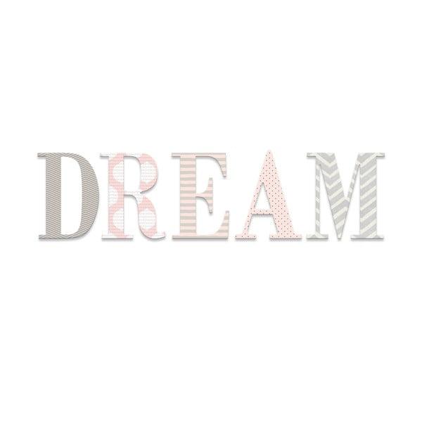 Dekorativní nápis Dream Art