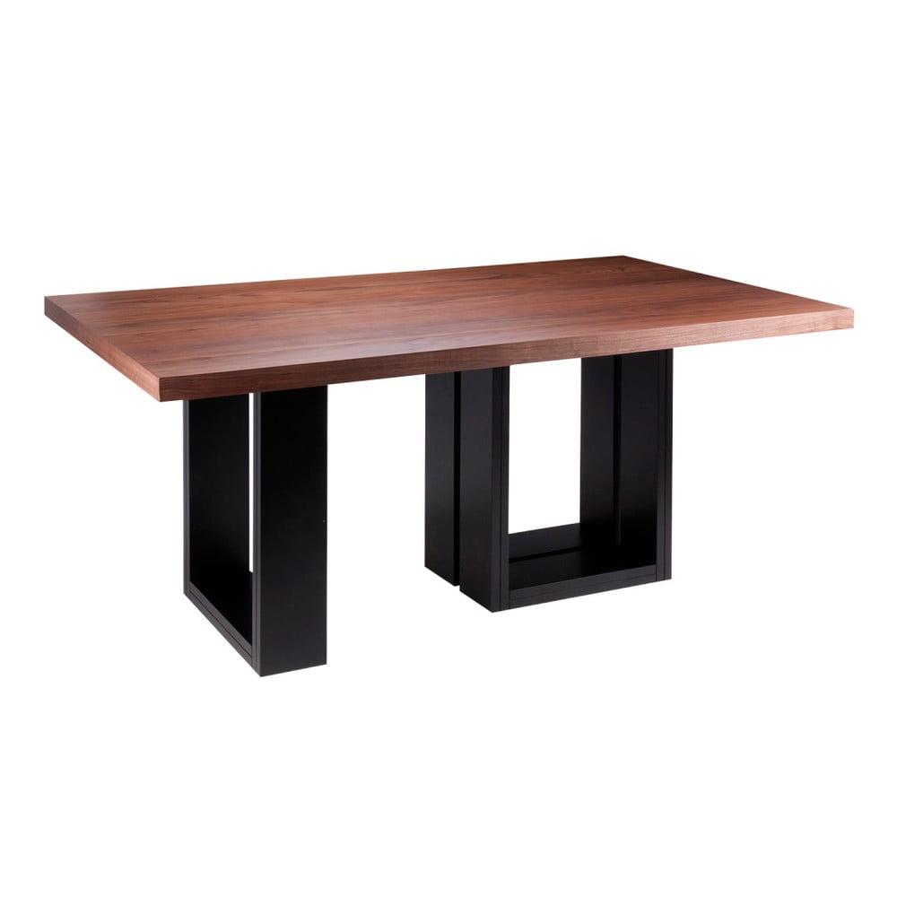 Jídelní stůl v dekoru ořechového dřeva sømcasa Telma, 180 x 100 cm
