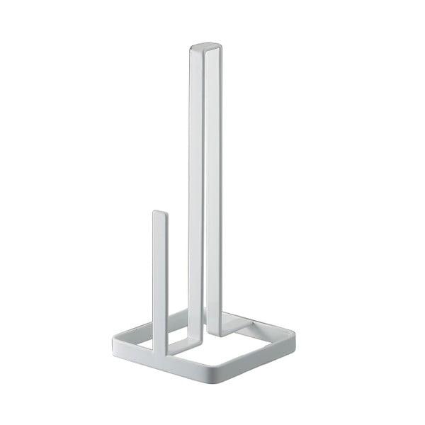 Bílý stojánek na roli papírových utěrek Yamazaki Tower
