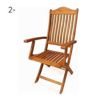 Set 2 scaune pliante Crido Consulting Humenna