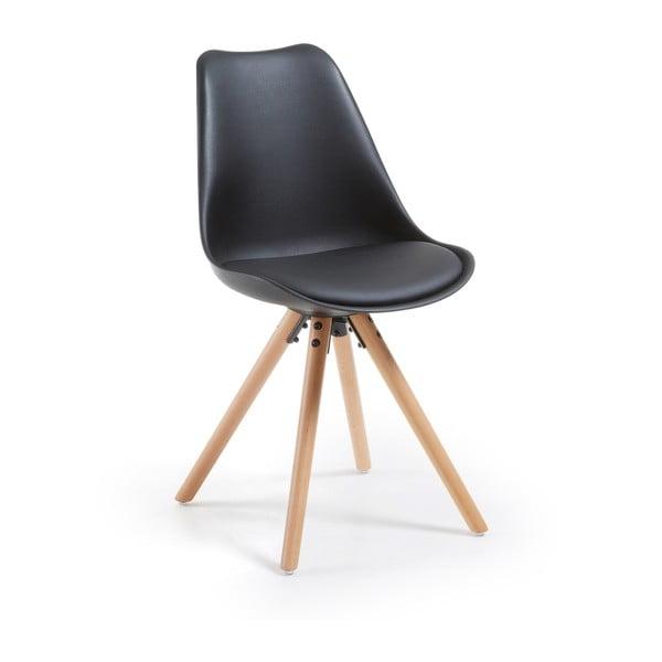 Židle Lars, černá
