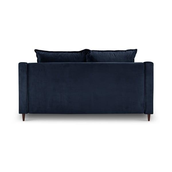 Modrá dvoumístná pohovka Mazzini Sofas Freesia
