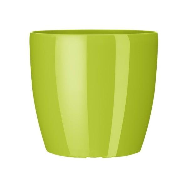 Vysoce odolný květináč Casa Brilliant 18 cm, zelený