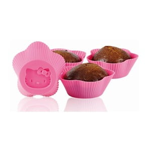Formičky na muffiny Hello Kitty, 6 ks