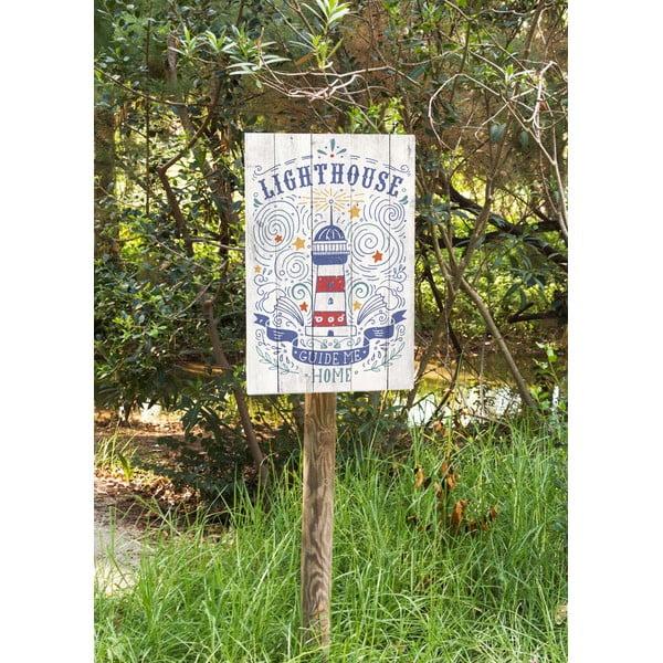 Nástěnná cedule Lighthouse
