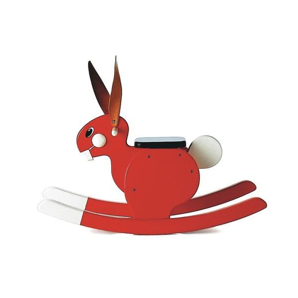 Houpací zajíc Rocking Rabbit Red