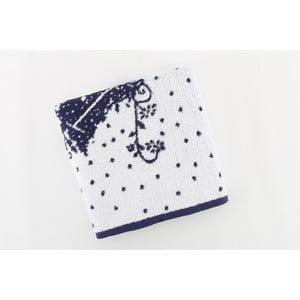 Bavlněný ručník BHPC Special 50x100 cm, tmavě modrý