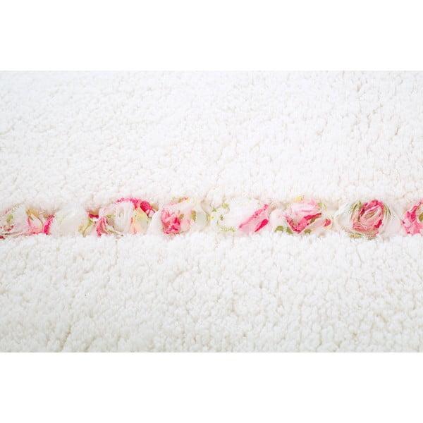 Koupelnová předložka Frenésie Cream, 65x80 cm