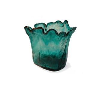 Skleněná váza Turquoise