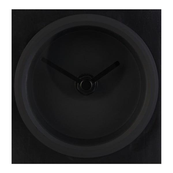 Černé stolní hodiny Zuiver Brick