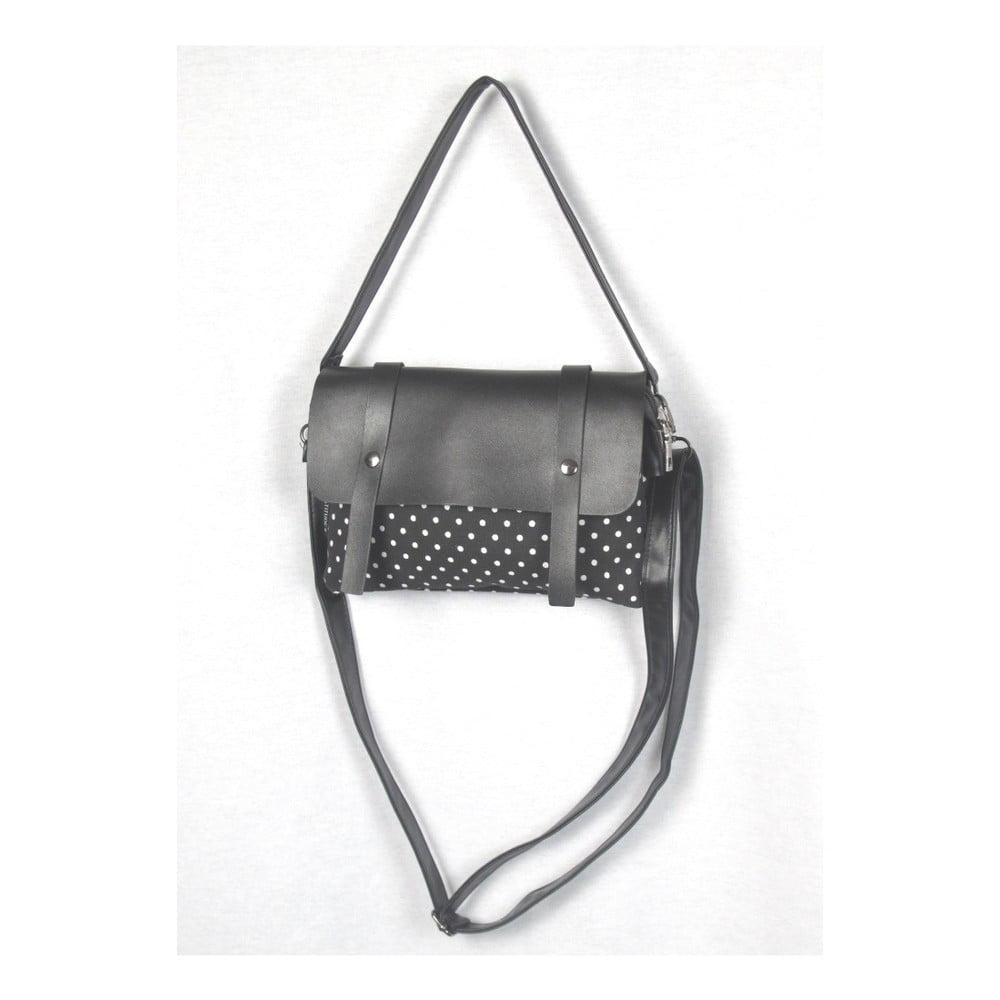 Černá plátěná taška Sorela Dotty