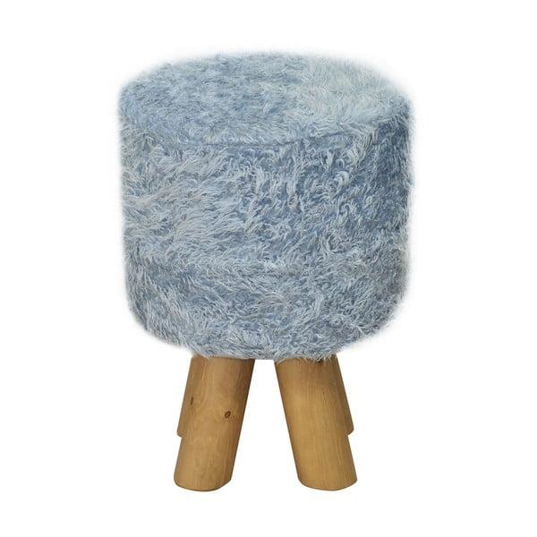 Stolička Kivi Futro Blue