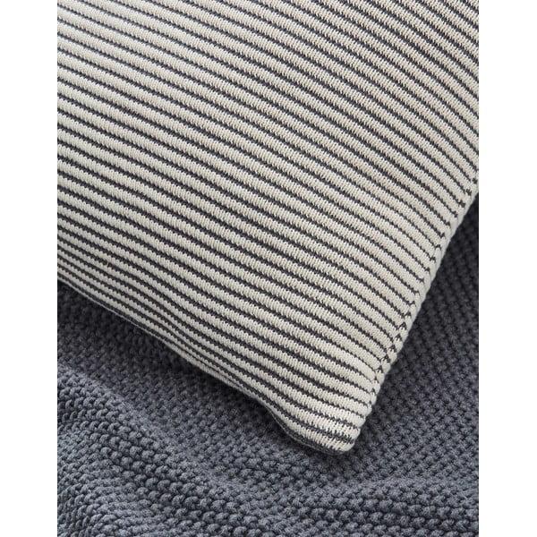 Polštář Marc O'Polo Sigg, 30x50 cm, šedý