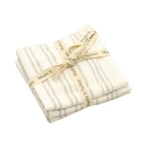 Sada 3 bílých bavlněných ručníků My Home Plus, 33 x 33 cm