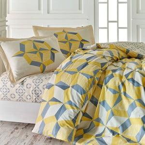 Lenjerie de pat cu cearșaf  Maimuna, 200x220cm