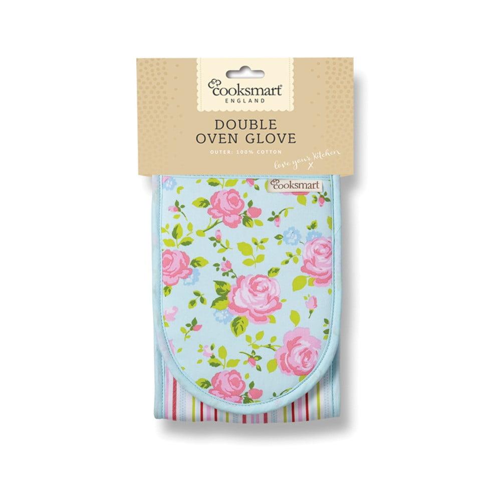 Kuchyňská rukavice z bavlny Cooksmart England Florals