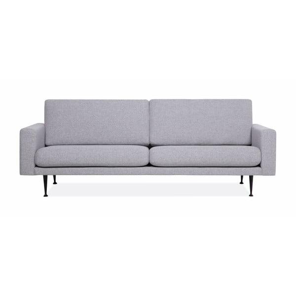 Szara sofa 3-osobowa Softnord Fox