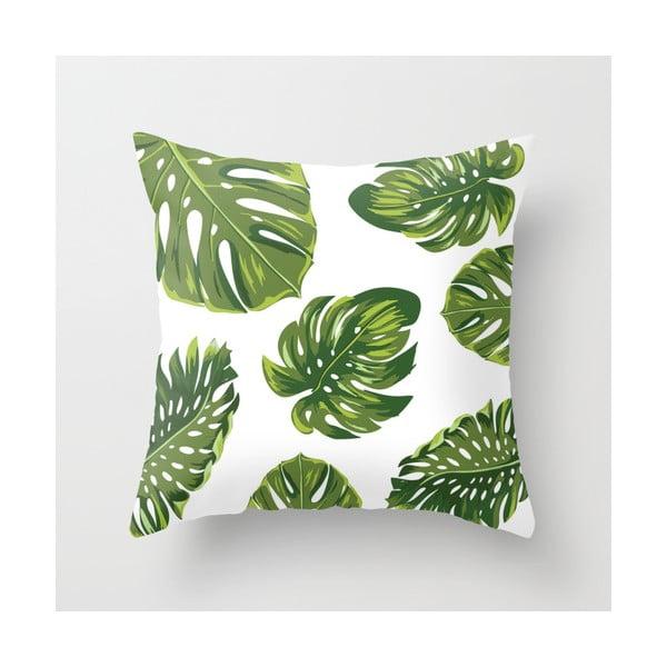 Povlak na polštář Palm White, 45x45 cm