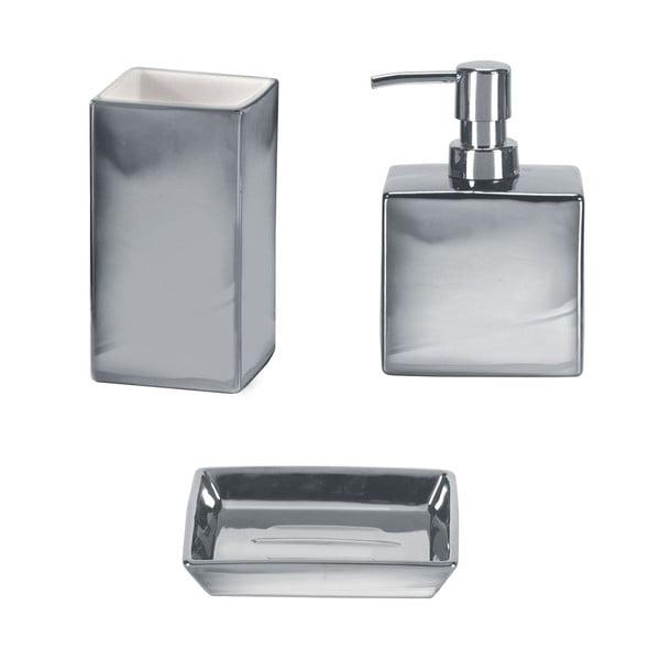 Koupelnový set Glamour Silver