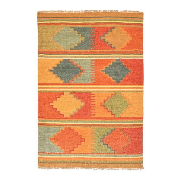 Vlněný koberec Kilim 837, 120x170 cm
